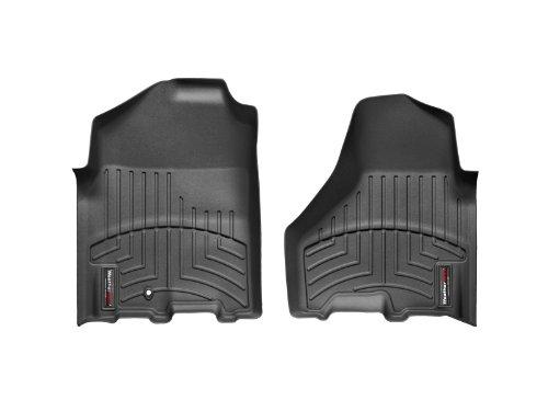 WeatherTech Custom Fit Front FloorLiner for Select Dodge Ram Models (Black) - 442161 (2011 Dodge Ram 2500 Floor Mats)