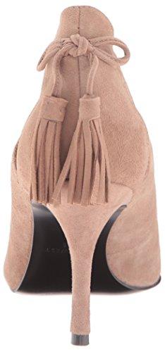 Nine Dress Pump Suede West Modesty Natural Women's 67rFq6