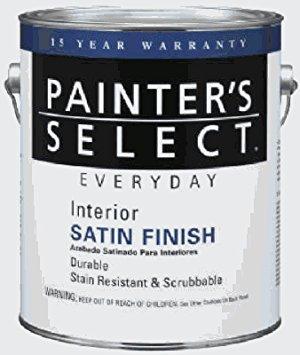 - True Value JSET-GL Tint Base Satin Interior Latex Enamel, 1-Gallon