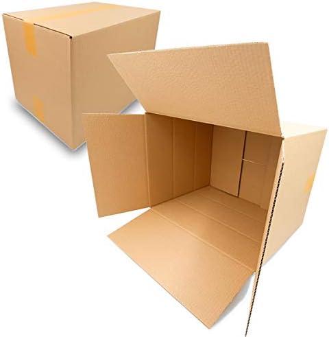 40 Faltkarton außen 400 x 300 x 300mm Versandkarton Wellpappe Karton D92