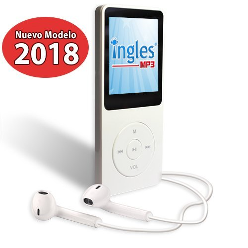 Curso de INGLES MP3, Aprende ingles en 3 Meses, CURSO DE INGLES (Incluye reproductor mp3 compacto con 100 Lecciones + Libro Guía) by Ingles MP3