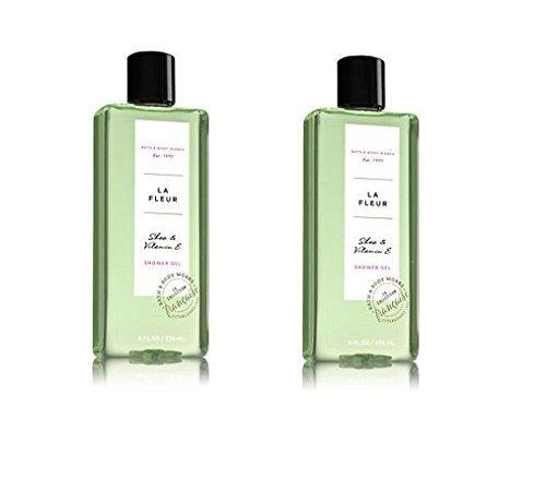 Bath and Body Works 2 Pack La Fleur Shower Gel 8 Oz