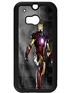 Classy JoneStore Case for Htc One M8,Iron Man Design for Girls