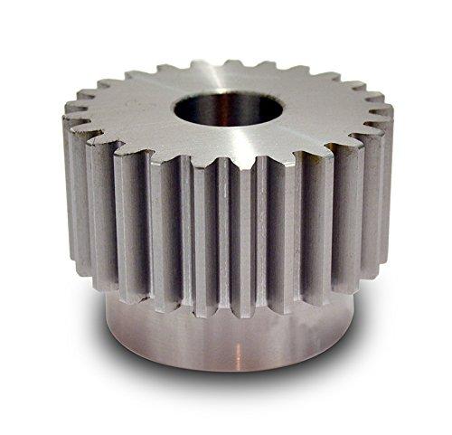 Boston Gear YH14 Spur Gear, Steel, Inch, 8 Pitch, 0.750'' Bore, 2.000'' OD, 1.500'' Face Width, 14 Teeth by Boston Gear
