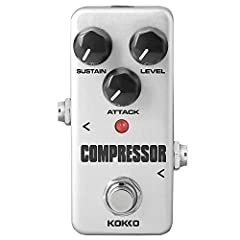 Specifications: - Brand: KOKKO - Model: FCP2 COMPRESSOR(Mini)  - Main Material: Aluminum Alloy - Input Impedance: 1M Ohms - Output Impedance: 10K Ohms - Power Supply: External AC adapter delivering 9V DC regulated minimum 300mA - Item Size: 9...