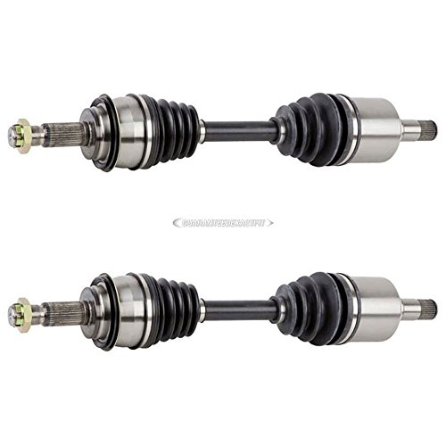Pair Front CV Axle Shafts For Toyota Tacoma 4Runner FJ Cruiser Lexus GX460 GX470 - BuyAutoParts 90-900882D ()