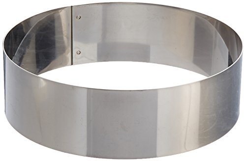 Matfer Bourgeat 371805 Ice Cake Ring, Silver