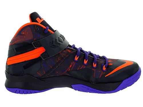 Nike Men's Zoom Soldier VIII Prm Basketball Shoe Purple low cost cheap online discount great deals newest cheap online 61oncpXo