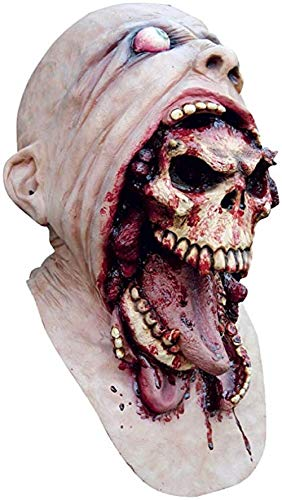 Zombie Mask – Blurp Charlie Latex Horror Halloween Undead Mask, Halloween Evil Zombie Eating Zombie Party Costume -