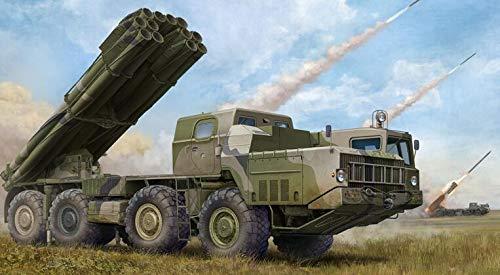 - Accessories KingTair 1/35 Scale Unassembled 8X8 Kits Military Russian 9A52-2 Smerch-M Multiple Rocket Launcher of RSZO 9K58 Smerch MRLS