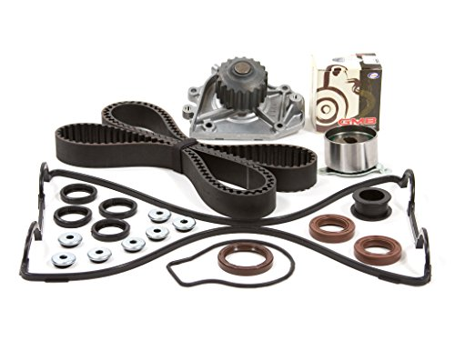 Evergreen TBK184VCT2 Fits Timing Belt Kit, Valve Cover Gasket, and Water Pump: 90-95 Acura Integra GS LS RS Non-Vtec 1.8L B18A1 B18B1 Acura Water Pump Gasket