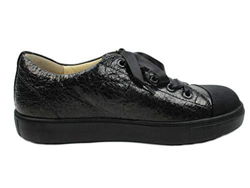 Mujer Cordones Finncomfort Negro De Zapatos Para UIawEvq
