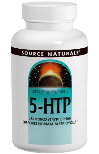 Source Naturals - 5-HTP L-5 hydroxytryptophane 50 mg. - 120 Capsules