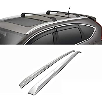 For 12-16 Honda CRV CR-V OE Factory Style Roof Rack Silver Side Rail Bar