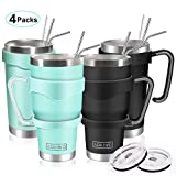 20oz and 30oz Tumbler, AOKIWO [4 Packs] Stainless Steel Insulated...