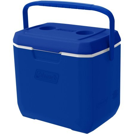 Coleman 28-Quart Xtreme Cooler - Blue/White