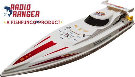 "Radio Ranger ll"" 34"" Remote Control Fishing Boat UPGRADED 2.4Ghz Remote System"