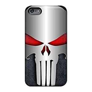 Apple Iphone 6s Plus Ngi2760tiuY Unique Design High Resolution Punisher Pattern Protective Hard Cell-phone Case -case8888