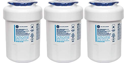Arrow Electric Locks - GE MWF3PK Smartwater Refrigerator Water Filter, 3 Pack,