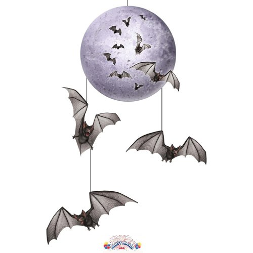 Beistle Halloween Mobile Hanging Party Decorating Item, 30-Inch