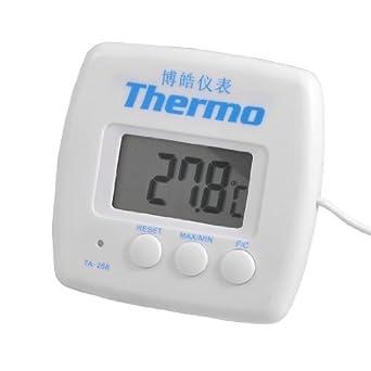 Display LCD eDealMax ripristinabili Frigorifero Congelatore termometro Digitale