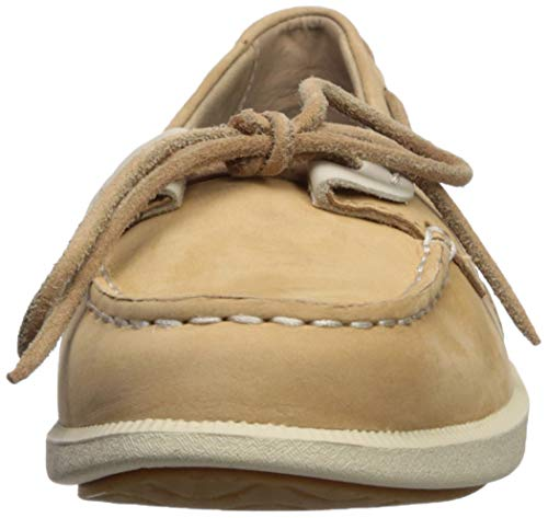 oat Linen Shoe Women's 11 Medium Boat sider Sperry Loft Us Oasis Top q8OgO0