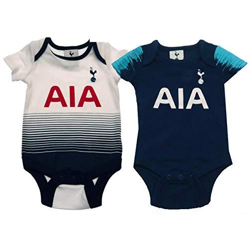 Tottenham Hotspur FC 2 Pack Bodysuit 0/3 mths ST