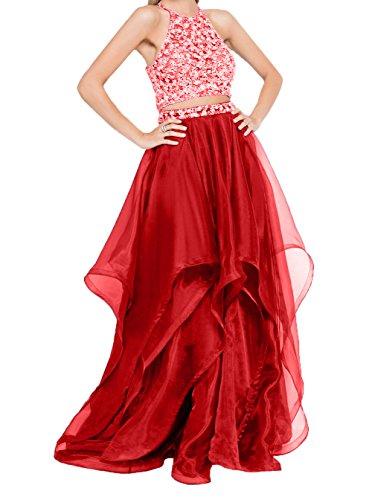 Gruen Partykleider Ballkleider Rot Traeger Tuell Charmant Abiballkleider Damen Abendkleider Jaeger Spaghetti Lang Abschlussballkleider 0O81EBx