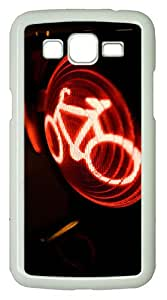 Samsung Galaxy Grand 2 7106 Case and Cover -Traffic Light PC case Cover for Samsung Galaxy Grand 2 7106¨C White