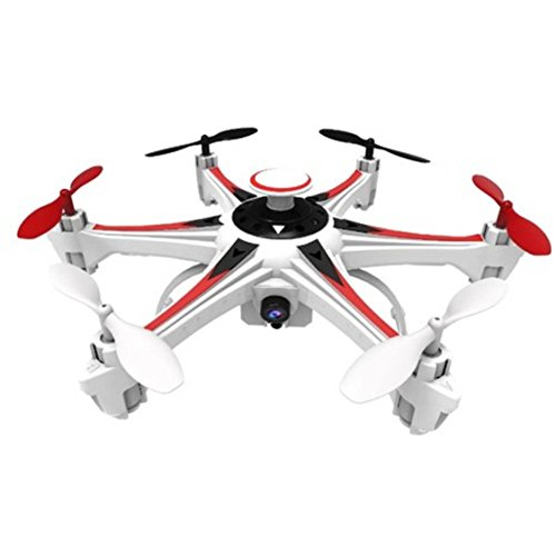 4 Channels 6 axis Gyro System 2 Megapixel Spinner Wi-Fi White Drone