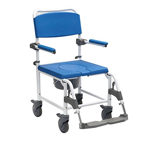 NRS Attendant Controlled Adaptable Shower Commode Chair (Eligible for VAT Relief in The UK)