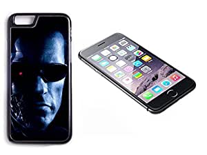 iPhone 6 Black Plastic Hard Case with High Gloss Printed Insert The Terminator