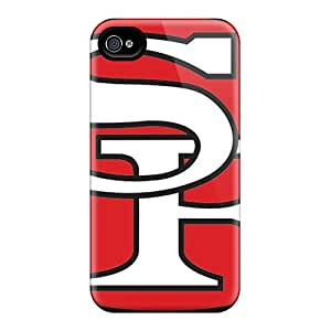 Durable Case For The Iphone 4/4s- Eco-friendly Retail Packaging(san Francisco 49ers)