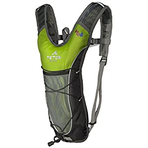 TETON Sports Trailrunner 2 Liter Hydration Backpack Perfect for Biking, Running, Hiking, Climbing, and Hunting; Bright Green