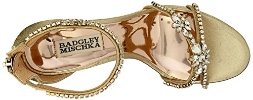 Sandali Con Tacco Badgley Platino Hobbs Donna Mischka 4B4PwCq