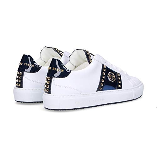 Philipp Sneakers Bianco Wsc0963114 Plein Donna Pelle r6qrS5
