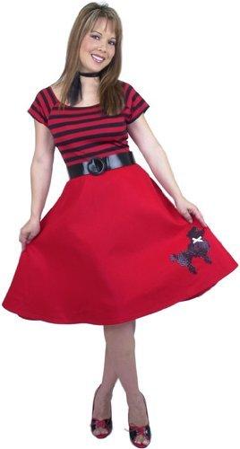 Poodle Dress Adult Costume Pink - Medium