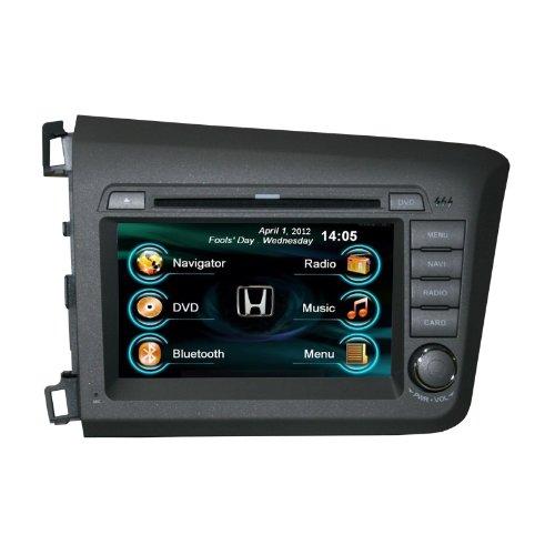 honda civic 2012 navigation wiring oem replacement in-dash radio dvd gps navigation headunit ... 2003 honda civic radiator fan wiring diagram #5