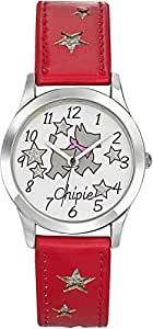 Chipie Girl`s Multi Color Dial Leather Band Watch [5211802]
