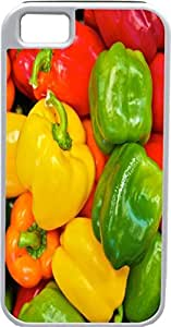 iPhone 4 Case iPhone 4S Case Cases Customized Gifts Cover Mix Peppers - Red - Yellow - Orange - Green - Ideal Gift