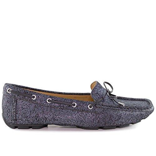 Black Loafer Napa Style Driving Bow Leather Driver Women's Nantucket Tie Club Pony USA aqZAv