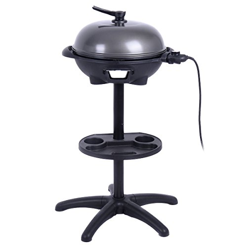 Giantex 1350W Electric BBQ Grill Non-stick w/ 4 Temperature Setting Outdoor Garden Patio Camping by Giantex (Image #3)