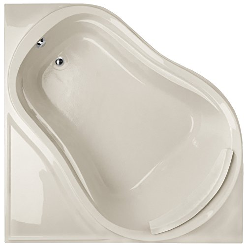 Tub Acrylic Eclipse (Hydro Systems ECL6464ATA-BIS-WOV.BIS Eclipse Acrylic Tub with Thermal Air System (Drain Included), Biscuit)