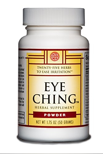 OHCO Eye Ching - Alternative Medicine Herbal Supplement for Eye Inflammation, Irritation, Itching, Redness From Seasonal Allergies, Pollen, Dust - Non-Stimulating, Non-Sedating {50g Powder}