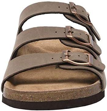 CUSHIONAIRE Women Lela Cork Footbed Sandal