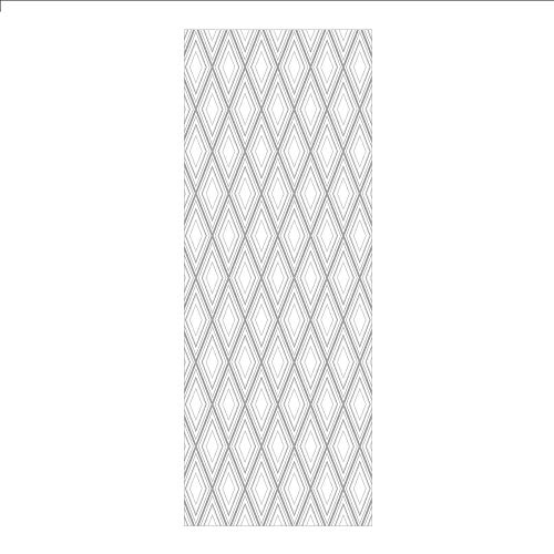 3D Decorative Film Privacy Window Film No Glue,Geometric Decor,Minimalist Repeating Diamond and Square Form Simplistic Artful Design,Light Grey White,for - Glass Cowboys Stained Dallas
