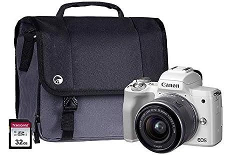 Canon EOS M50 Kit de cámara CSC Blanca con Lente EF-M15-45 mm ...