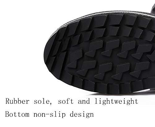 Casual Al Aire Para Plus Antideslizantes Mujer Invierno De Botas Black Nieve Calientes Zapatos Algodón Libre vPYRxw4