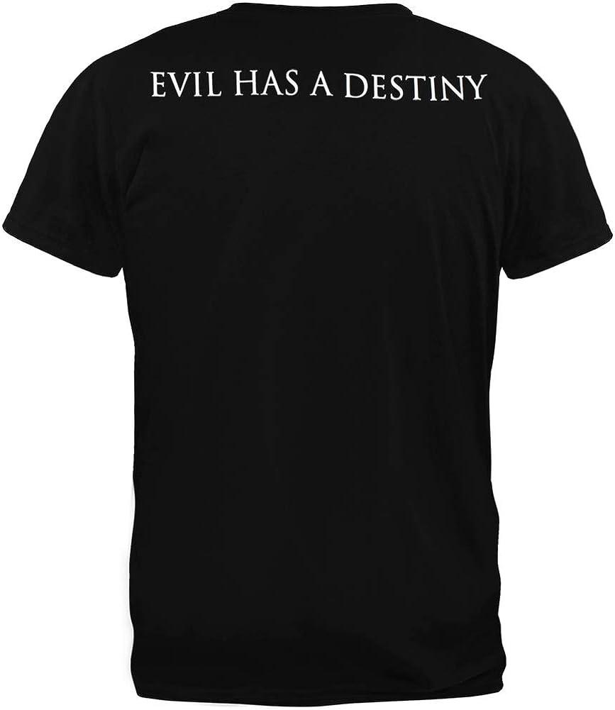 Amazon.com: Halloween – Mal ha Destiny playera, S, Negro ...