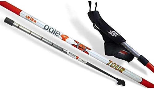 Skike pole4/one4 Tour Traveller 3teiliger Stock 100% carbono, 145 ...
